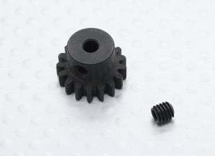17T / 32 3.17mm Pitch acero endurecido engranaje de piñón