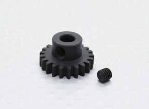 21T / 5 mm de acero templado 32 Pitch engranaje de piñón