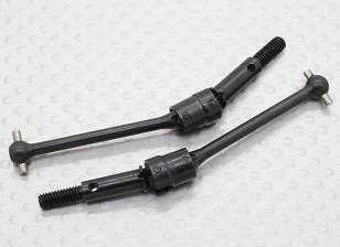 Doble articulación Árbol de transmisión universal (2pcs / bolsa) - 1/10 Hobbyking Misión-D 4WD GTR Drift Car