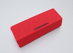 Turnigy suave de silicona protector de la batería de Lipo (1600-2200mAh 3S-rojo 4S) 110x35x25mm