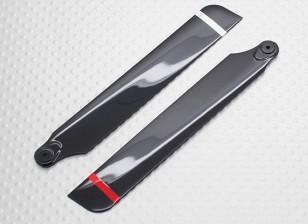 Las cuchillas principales - Helicóptero Walkera de Super Micro CP 3D (1 par)