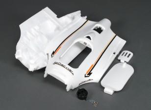 HobbyKing Go Discover FPV 1600mm - Sustitución del fuselaje w / montaje del motor