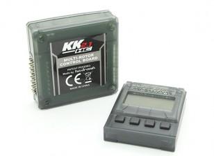HobbyKing KK2.1HC Junta Multi-Rotor dura de la caja de control de vuelo Con el programador a distancia