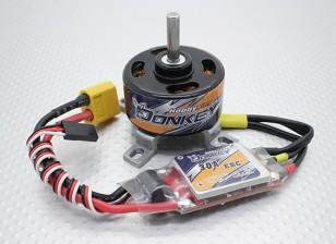 HobbyKing burro ST3511-810kv sin escobillas Sistema Combo Potencia