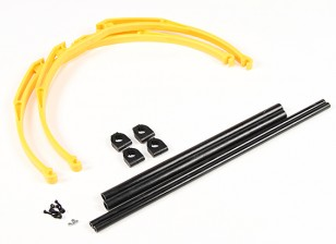 M200 Pata de cangrejo Landing Gear Set DIY (amarillo)