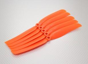 Hobbyking ™ Hélice 8x6 naranja (CCW) (5pcs)