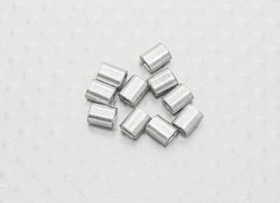 Para prensar tubos de alambre de acero - 10pc
