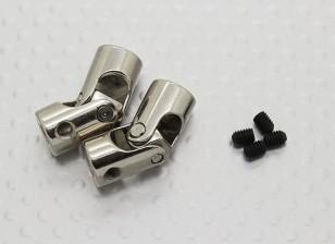 Universal de Accionamiento Acoplamiento del eje de 23 mm x 3,17 Barco / 4 mm (2 piezas)