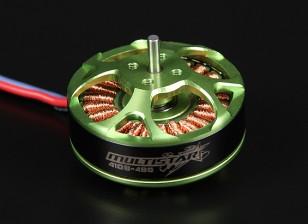 4108-480KV Turnigy Multistar 22 Polo sin escobillas Multi-rotor del motor con cables extra largas