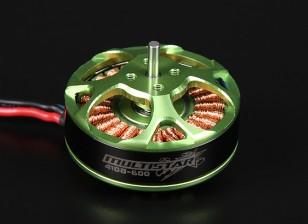 4108-600KV Turnigy Multistar 22 Polo sin escobillas Multi-rotor del motor con cables extra largas