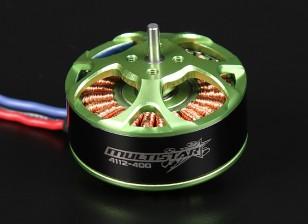 4112-400KV Turnigy Multistar 22 Polo sin escobillas Multi-rotor del motor con cables extra largas