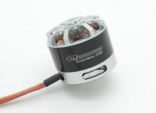 Quanum 2208 precisión sin escobillas del motor del cardán (GoPro tamaño 100-200g)