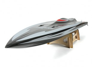 Ariane 2 de fibra de carbono Marino sin escobillas barco que compite con w / Motor (930 mm)