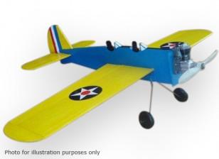 Negro Modelos Hawk entrenador PT-19 Control de línea Balsa 584mm (Kit)