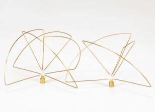 900Mhz circular antena polarizada Conjunto (SMA) (LHCP) (corto)