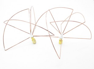 1.2 GHz circular polarizado antena SMA (Set) (corto)