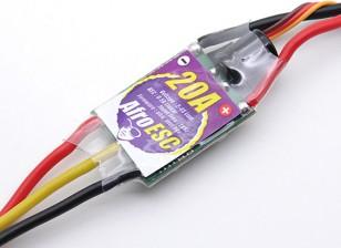 Controlador afro ESC 20Amp del Multi-rotor de velocidad del motor (SimonK firmware)