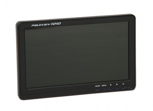 10,1 pulgadas de 1024 x 600 FPV LED HD Monitor con parasol y Montaje de trípode FieldView 1010