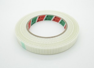 Alta resistencia a cuadros de fibra de cinta de 15mm x 50m