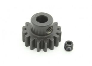 16T / 5 mm de acero templado M1 engranaje de piñón (1 unidad)