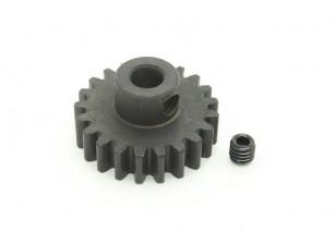 21T / 5 mm de acero templado M1 engranaje de piñón (1 unidad)