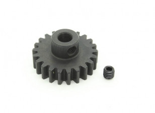 22T / 5 mm de acero templado M1 engranaje de piñón (1 unidad)