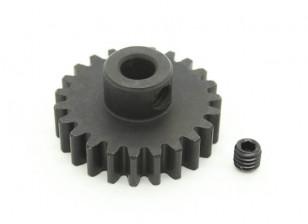 23T / 5 mm de acero templado M1 engranaje de piñón (1 unidad)