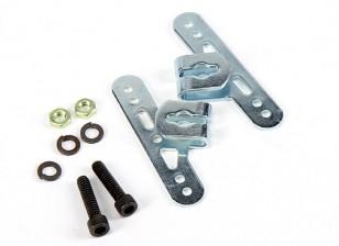 Sullivan 5/32 pulgadas de las bragas de la rueda ajustable soportes de montaje (1 juego)