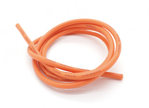 Turnigy Pure-silicona de alambre 12 AWG 1m (naranja)