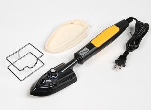 Turnigy 110w sellado en caliente del hierro con el calcetín y el soporte 110v (EE.UU. Std 2 Pin Plug)