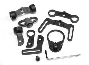 Elemento EX247 Multi Función kit honda giratoria para M4 GBB (Negro)