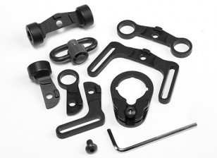 Elemento EX246 Multi Función kit honda giratoria para M4 AEG (Negro)