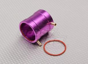 De aluminio color púrpura chaqueta de agua de enfriamiento (36 mm)