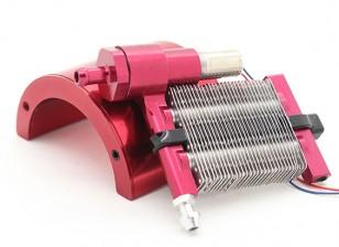 HobbyKing Líquido Sistema de refrigeración para los coches de RC con auto bomba de circulación y el radiador