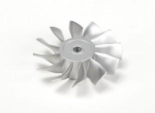 El Dr. Mad 90mm empuje moldeada aleación de aluminio del rotor