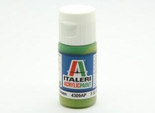 Italeri pintura acrílica - Piso luz verde