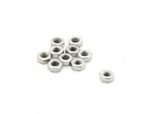 RJX X-TRON 500 M2 estándar tuercas hexagonales # XT8025 (10 piezas)