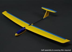 HobbyKing ™ Mini Guppy Pendiente Planeador Balsa 1165mm (KIT)