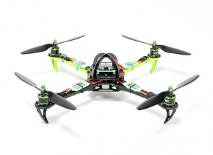 Turnigy SK450 Quad Copter accionada por el Multistar. El enchufe y la mosca Quadcopter Conjunto (PNF)