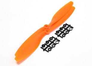 Turnigy Slowfly hélice 10x4.5 Orange (CCW) (2pcs)