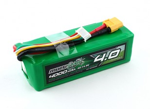 Multistar High Capacity 4000mAh 4S 10C Multi-Rotor Lipo Pack