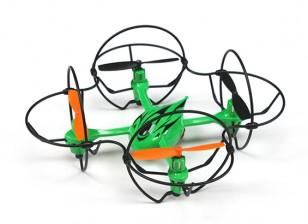 Vimanas X Eje 6 enjaulado Quad-helicóptero (Modo 2) (RTF)