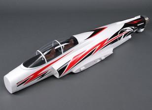 HobbyKing Cobra 90mm EDF - Sustitución del fuselaje