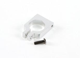 de alta precisión de la abrazadera del tubo de plata FPV CNC para montaje FPV