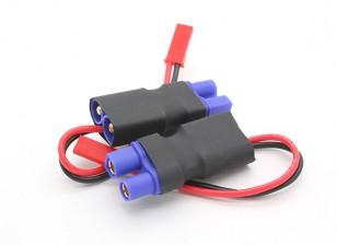 EC3- JST macho en línea adaptador de corriente