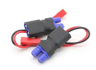 EC3 - JST hembra en línea Adaptador de corriente