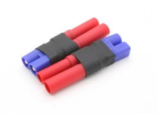 EC3 al adaptador de batería HXT4mm (2pcs / bolsa)