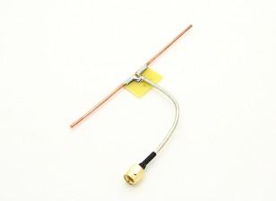 1,3 GHz dipolo coaxial de alimentación cuartos de conexión directa de la onda de la antena (RP-SMA)