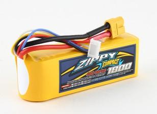 ZIPPY Compacto 1800mAh paquete 4s 40c Lipo