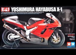 Kit de Tamiya 1/12 de la escala Yoshimura Hayabusa X-1 Modelo de plástico